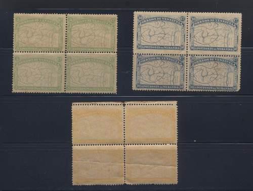 Estampillas de venezuela 1896 francisco de miranda bloque
