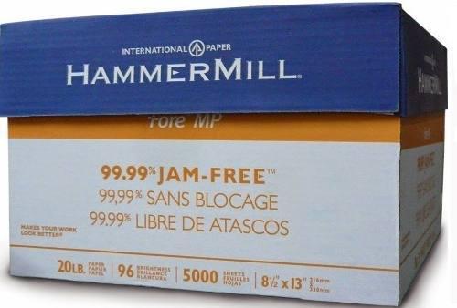 Papel fotocopiadora oficio hammermill