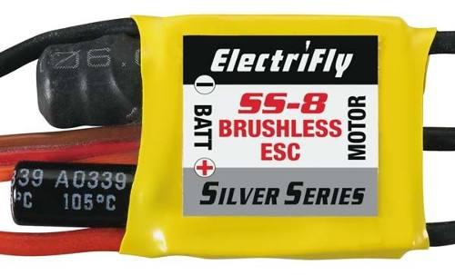 8a brushless esc. electrifly ref 1800 great planes. 45 vrdes