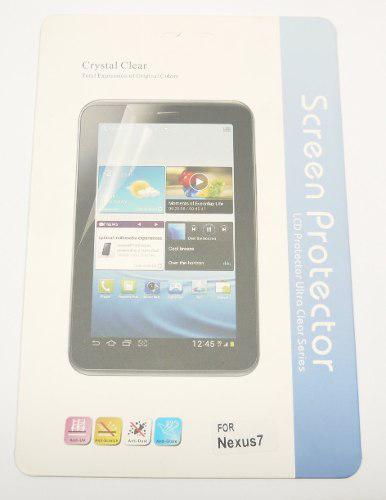Lamina protectora tablet nexus 7 transparente