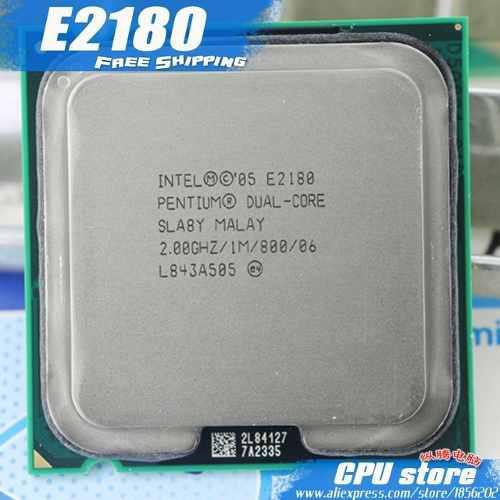 Procesador dual core modelo e2180 de 2.0 mhz socket 775