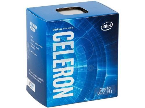 Procesador intel celerom g3930-lga 1151-2 mb cache, 2.9 ghz