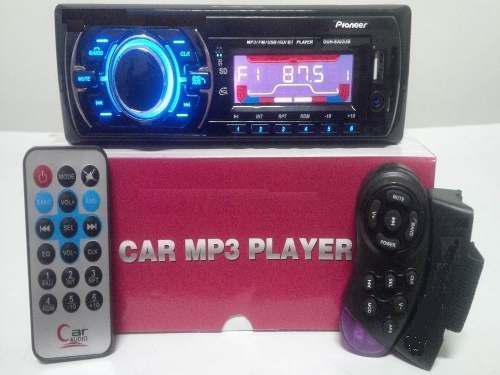 Reproductor de carro pioneer bluetooth mp3 usb con control