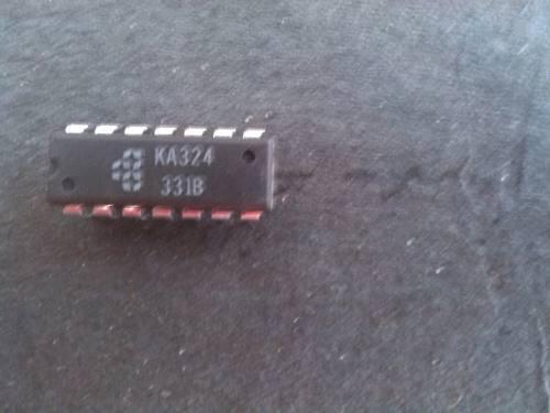 Amplificador operacional cuadruple lm324 dos unidades