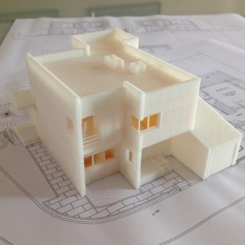 Impresión 3d: modelos arquitectónicos