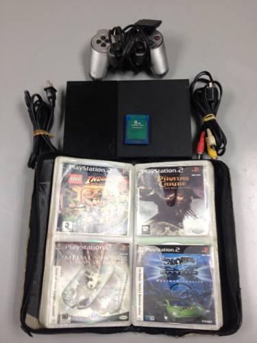 Playstation 2 para reparar o repuesto, lente malo.