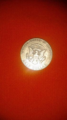Half Doll Liberty Año 1964 En Conmemoración A Kennedy