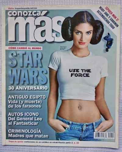 Revista conozca mas star wars 30 aniversario