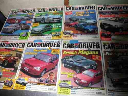 Revistas car and driver negociable