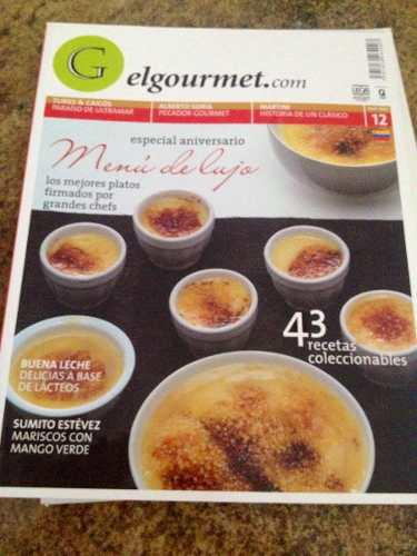 Revistas De Comida (4) El Gourmet.com (2006 Y 2007). N2