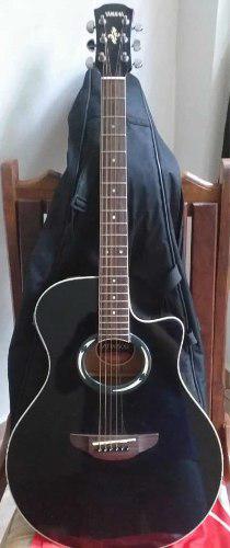 Guitarra electro acústica yamaha apx 500
