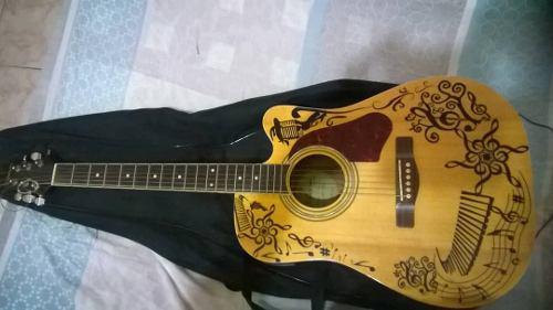 Guitarra electro acustica silverstone