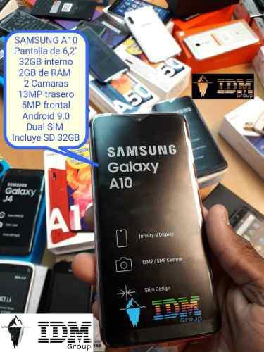 Samsung a10 _140 us_ telefono celular dual sim liberado