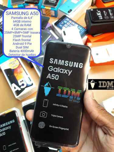 Samsung a50 _265 us_ telefono celular dual sim liberad