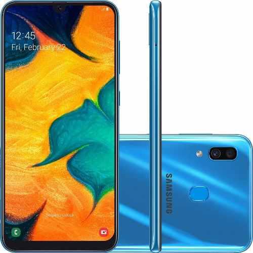 Samsung galaxy a30 android 9 dual sim 4gb ram 64gb 210usd