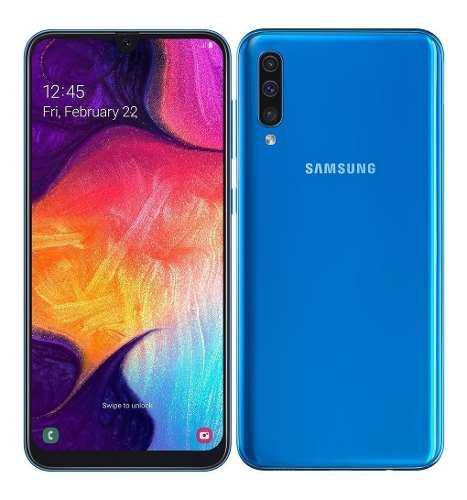 Telefono samsung a50 4gb+64 25/25mpx android 9