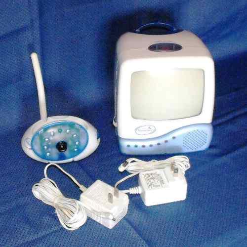 Monitor para bebe summer 900 mhz audio video