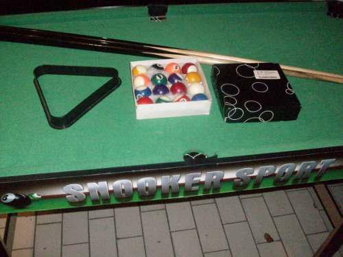 Pool mesa venta remate semi profesional snooker importada