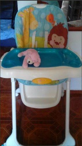Silla-mesa para bebes fisher price
