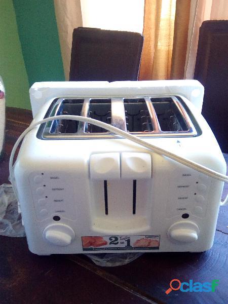 Tostadora compacta 4 panes. marca cuisinart
