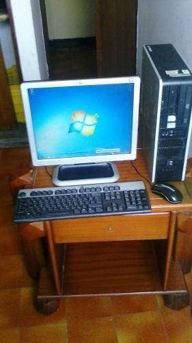 Computadora De Escritorio Hp Compac 1gb Ram 80gb Dd