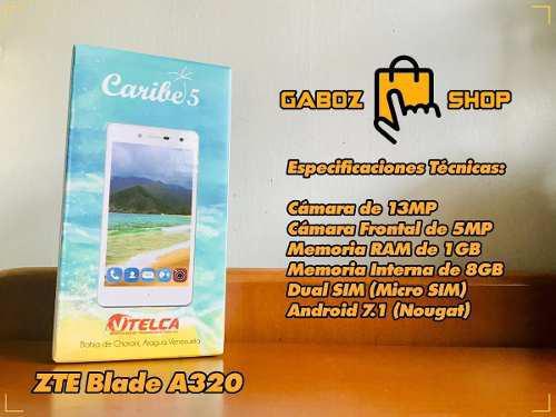 Teléfono caribe 5 zte blade a320 liberado nuevo sellado