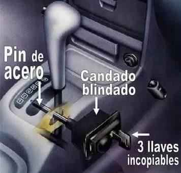 Tranca Palanca Mul-t-lock Original Pin 16 Alarmas Seguridad