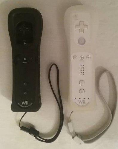 Control remote motion plus wii y wii u blanco y negro (20s)