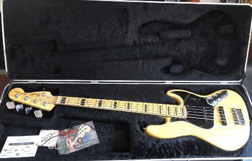 Fender Jazz Bass America Deluxe Americano Color Natural