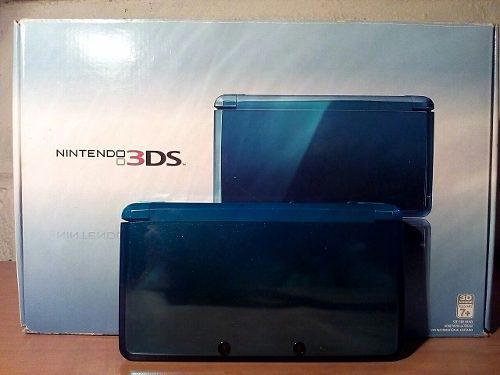 Nintendo 3ds con su caja y todos sus accesorios + 10 juegos