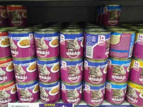 Alimento/comida para gatos en lata 290 gramos
