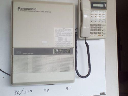Central telefonica 616 panasonic 6 lineas 16 extensiones