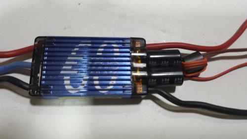E-flite 60 amp pro bec brushless esc