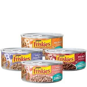 Friskies comida para gatos húmeda en lata remate 35us