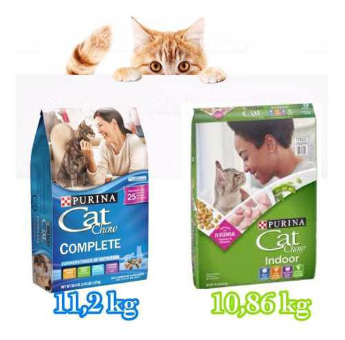 Gatarina cat chow indoor y complete
