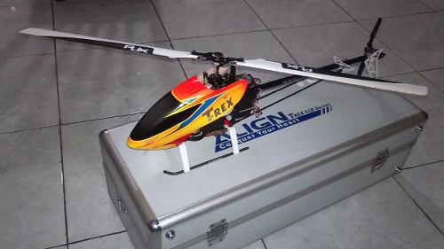 Helicoptero a rc aling 450 pro 3d dfc fyberless 3gx + case