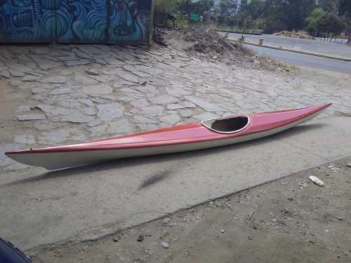 Kayak caribe de travesia