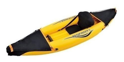 Kayak inflable reforzado 1 persona bote ecology