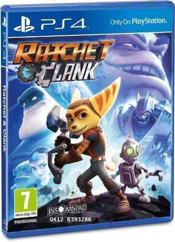 Ratchet clank juego ps4 en perfecto estado
