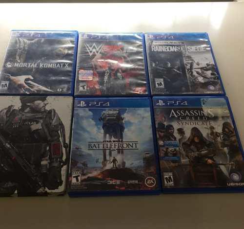 Video juegos ps4