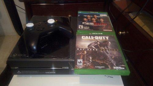 Xbox one 500gb 2 juegos fisicos