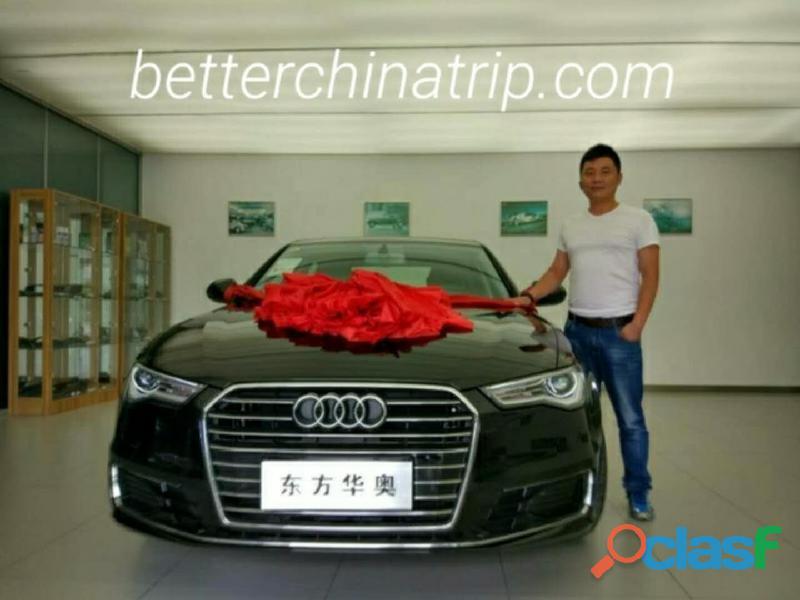 Alquiler de carros/coches,furgonetas en china, beijing/pekín,shanghai,guangzhou