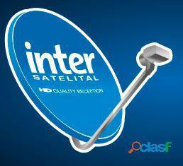 Intalación orientación de antenas inter satelital
