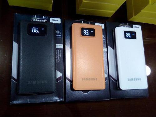 Cargador portatil power bank 20000mah samsung celular tablet
