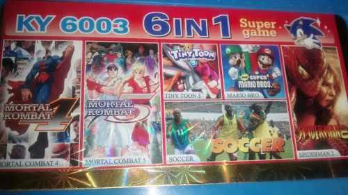 Caset juegos nintendo chino generico incluye mario bross
