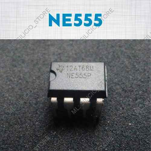Circuito integrado ne555 = lm555 5 unidades temporizador