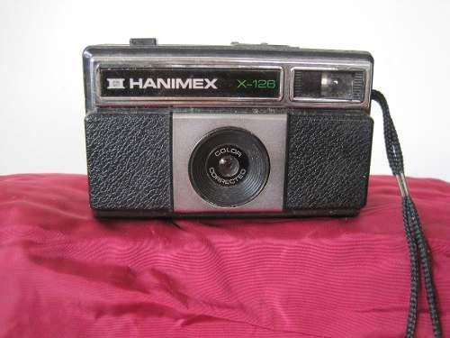 Cámara hanimex analógica x-126 colección años 80´s de