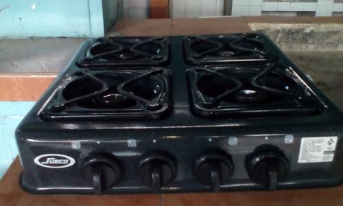 Cocina de mesa 4 hornillas a gas usada en perfecto estado