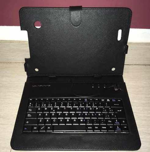 Estuche/forro/case protector con teclado tablets 10pulg