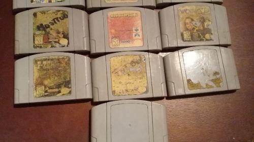Juegos de nintendo 64 (por unidad o el lote completo)